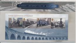 Classic Locomotives Of Scotland ( K137 ) - Presentation Packs