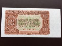 CZECOSCOVAKIA P83 10 KORUM 1953 UNC - Tchécoslovaquie