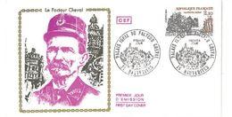 FDC Le Facteur Cheval  (26 Hauterives 06/1984) - FDC
