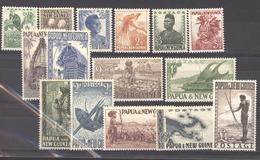 Papouasie & Nouvelle Guinée  :  Yv  1-15 + 20  * - Papouasie-Nouvelle-Guinée