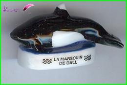 """Feve Les Mammifères Marin Edition Atlas """" Le Marsouin De Dall """" Orque #B57 - Animaux"""