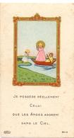 Devotie - Devotion - Communie Communion - Christiane Bernheim - Institution De La Providence 1945 - Communion