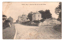CPA HUY : Quartier Est, La Rue Des Villas - Ed. G. Hermans, Anvers - N° 1635, Circulée En 1908 - Huy
