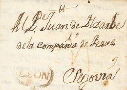 Sobre . 1761. LEON A SEGOVIA. Marca LEON, De León (P.E.2) Edición 2004. MAGNIFICA Y RARISIMA. - Spain