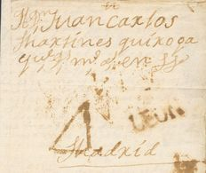 Sobre . (1869ca). SALAMANCA A MADRID. Marca S / LEON, En Rojo-oxidado De Salamanca (P.E.4) Edición 2004. MAGNIFICA Y RAR - Spain