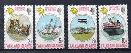FALKLAND  Timbres Neufs ** De 1974-1982 ( Ref 2618 )  Transports- Bateaux Voir 2 Scans - Falkland