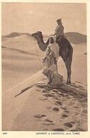 TUNISIE Lehnert & Landrock N° N° 2581 SERIE VII Paysages  D'Orient LA PRIERE DANS LES DUNES  *PRIX FIXE - Tunisia