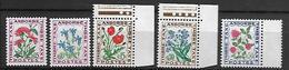 ANDORRE    -   Timbres-Taxe  -  1964 .   Fleurs ** - Timbres-taxe