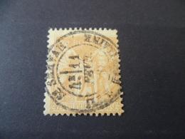 SAGE  N° 92  OBLITERE SAINT SERVAN  ILE ET VILAINE - 1876-1898 Sage (Type II)