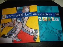 LE LIVRE DES TIMBRES 2006 FRANCE PHILATELIE UNE RETROSPECTIVE AUTOUR DU TIMBRES SUR LA CULTURE L'ARTS LA BD SANS TIMBRES - France