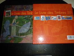 LE LIVRE DES TIMBRES 2007 FRANCE PHILATELIE UNE RETROSPECTIVE AUTOUR DU TIMBRES SUR LA CULTURE L'ARTS LA BD SANS TIMBRES - France