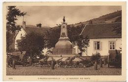 CPA 88 SAINT MAURICE SUR MOSELLE Le Monument Aux Morts - Autres Communes