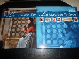LE LIVRE DES TIMBRES 2008 FRANCE PHILATELIE UNE RETROSPECTIVE AUTOUR DU TIMBRES SUR LA CULTURE L'ARTS LA BD SANS TIMBRES - France