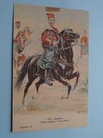 Officier Indigène - Grande Tenue SPAHIS ( 28 )  ( Collection J H. ) Anno 1912 ( See/voir Photo > VOIR Détail SVP) ! - Uniformen