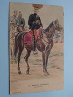 Général De Brigade - Petite Tenue ( 1 )  ( Collection J H. ) Anno 1912 ( See/voir Photo > VOIR Détail SVP) ! - Uniformi