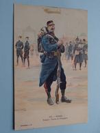 Génie - Troupe - Tenue De Campagne ( 37 )  ( Collection J H. ) Anno 1912 ( See/voir Photo > VOIR Détail SVP) ! - Uniformi