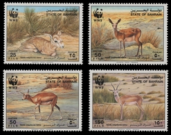 Bahrain 1993 - Mi-Nr. 511-514 ** - MNH - WWF - Gazellen - Bahrein (1965-...)