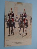 Garde Républicaine à Cheval - Cavaliers..... ( 31 )  ( Collection J H. ) Anno 1912 ( See/voir Photo > VOIR Détail SVP) ! - Uniforms