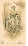 Devotie - Devotion - Souvenir Réception Enfants De Marie De Soeur Madeleine Douchet - 1913 - Faire-part