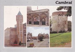 59 CAMBRAI /  MULTIVUES - TOUR / PORTE DE L'ANCIEN PALAIS FENELON - GARE - TOUR ABANCOURT - Cambrai