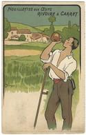 Carte Postale Publicité - Nouillettes Aux Oeufs Rivoire Et Carret - Dessin - Publicité