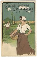 Carte Postale Publicité - Coquilles Lucullus Rivoire Et Carret - Dessin - Publicité