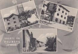 POLINAGO-MODENA-SALUTI DA..MULTIVEDUTE(3 IMMAGINI )-CARTOLINA VIAGGIATA IL 11-8-1956 - Modena