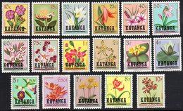 Katanga 0023/39** Fleurs Du Congo MNH - Katanga