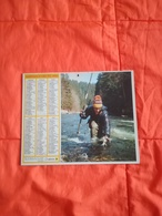 1982 - ALMANACH DES P. T T - Pêche & Chasse - 24 DORDOGNE - OBERTHUR - Calendriers