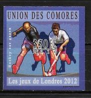 COMORES  N° 2024 * *  NON DENTELE  Jo 2012 Hockey Sur Gazon - Hockey (Veld)