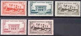 MARTINIQUE SERIE N°133-134-135-136-137 - Neufs Sans Charnières ** / MNH - Martinique (1886-1947)