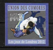 COMORES  N° 2027 * *  NON DENTELE  Jo 2012 Judo - Judo