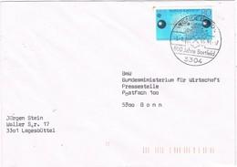 30638. Carta WENDEBURG (Alemania Federal) 1984. 800 Jahre Bortfeld. Stamp EUROPA - [7] República Federal