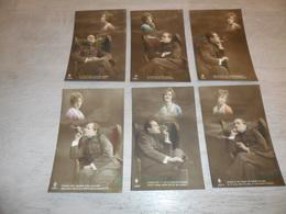 Couple ( 42 )   Koppel   Serie Van 6 Postkaarten - Serie De 6 Cartes Postales  -  Soldat  Soldaat   Militair - Couples