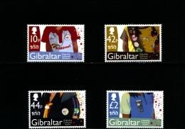 GIBRALTAR - 2010  SCOUT  GUIDES   SET  MINT NH - Gibilterra