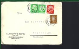 LETTRE DE ZWEIBRÜCKEN - MAI 1933 - Storia Postale