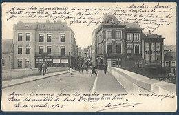 Huy - Vue Sur La Rue Neuve - Huy
