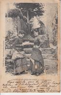 PAYS BASQUE - ST JEAN PIED DE PORT  -   Types Basques - Ferreta  ( Eau ) Costmes Tradition  ETAT  PRIX FIXE - Saint Jean Pied De Port