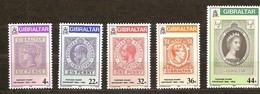 Gibraltar 1986 Yvertn° 515-519 *** MNH  Cote 9,00 Euro - Gibraltar
