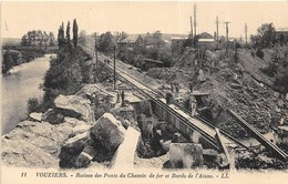 40 CP(SNCFCatastrophed'Andrésy+Vouziers+Sceaux ...)1910 Aviat à Caen+Faire-part Naiss.+Rouet+Fillettes+Inond Houbl N°81 - Cartes Postales