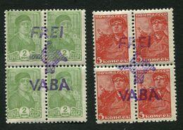 "Estonia. Estland 1941  German Occupation.  Hiiumaa.  "" FREI / Map Of Hiimaa / VABA"" MNH** Very Rare - Estonie"