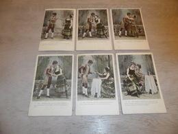 Couple ( 49 )   Koppel   Serie Van 6 Postkaarten - Serie De 6 Cartes Postales - Couples