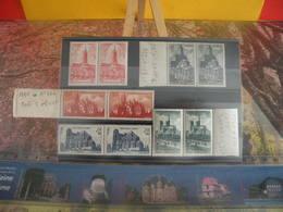 Lot. 10 Timbres Neufs > Série N°772-773-774-775-776- Y&T 1947 - Coté 24€ Cathédrale & Basiliques - France