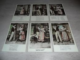 Couple ( 50 )   Koppel   Serie Van 6 Postkaarten - Serie De 6 Cartes Postales - Couples