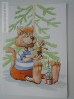 D162020  Hungary - Postal Stationery - 2 Ft  Grafika Hangya - Mouse Maus - Cat  -Humour Christmas Present - Entiers Postaux