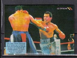 F050 - IMAGE CHEERIOS - BOXE - JULIO CESAR CHAVEZ - Trading Cards