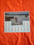 1984 - ALMANACH DES P. T T. - Pêcheur à La Ligne & Chasseurs Et Leurs Chiens - 24 - DORDOGNE - OBERTHUR - Calendars
