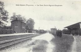 CPA 53 - SAINT AIGNAN COUPTRAIN - La Gare - Couptrain