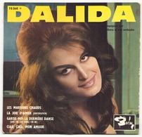 45 TOURS DALIDA BARCLAY 70360 LES MARRONS CHAUDS / LA JOIE D AIMER + 2 - Vinyl Records
