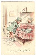 Illustrateur Germaine BOURET - Vas Tu Te Réveiller, Brutus?  - CHIEN - Ed. M. S., Paris - Bouret, Germaine
